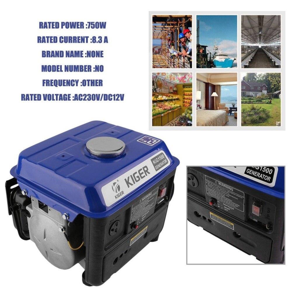 Здесь продается  Professional 750w Small Gasoline Generator Generator Petrol Home Use 4.2 L With An Overload Protective Device NEW  Электротехническое оборудование и материалы