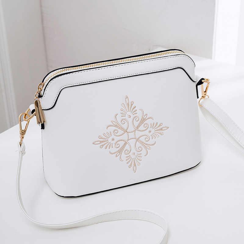 b56be5d39929 2018 новые модные маленькие сумки на плечо для женщин однотонные черные  розовые белые женские сумки-