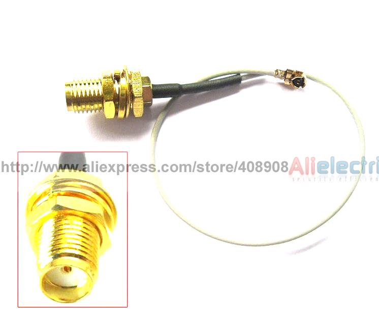30pcs SMA Female w Pin to IPX U FL 1 13 Conversion Antenna WiFi SMA Cables 20cm badger i listening b1 intermediate cd