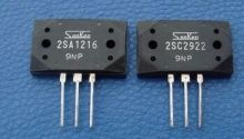 2018 hot sale 30Pair Original new Sanken power amplifier on the tube 2SA1216/2SC2922 P/Y stereo pair transistor free shipping