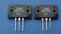hot sale 10pair/30Pair Original new Sanken power amplifier on the tube 2SA1216/2SC2922 P/Y stereo pair transistor free shipping
