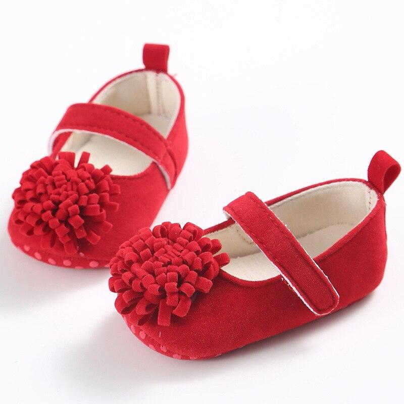 0-1 jaar oude lente en zomer herfst vrouwelijke baby schoenen zachte - Baby schoentjes - Foto 3