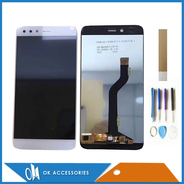 Black White Color For Infinix Zaro 5 X603 LCD Screen Display With Touch Screen Digitizer Assembly Replacement With Tools TapeBlack White Color For Infinix Zaro 5 X603 LCD Screen Display With Touch Screen Digitizer Assembly Replacement With Tools Tape