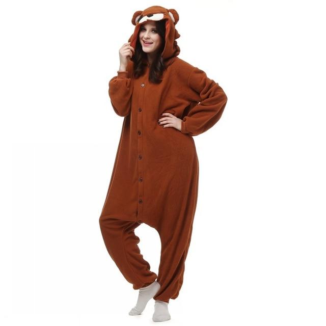 479be668d3c6 Well Made Good Quality Brown Pedo Bear Cute Little Bear Pedobear Soft Pajama  Anime Cosplay Costume Unisex Adult Onesie Sleepwear