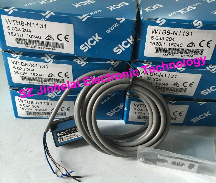 100% Authentic original WTB8-N1131 SICK Economical background suppression photoelectric switch все цены