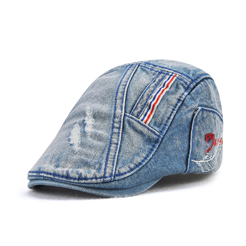 [JAMONT] 2018 New Children's Hats Boy Vizier Hoed Beret Cap Denim - Kledingaccessoires - Foto 2