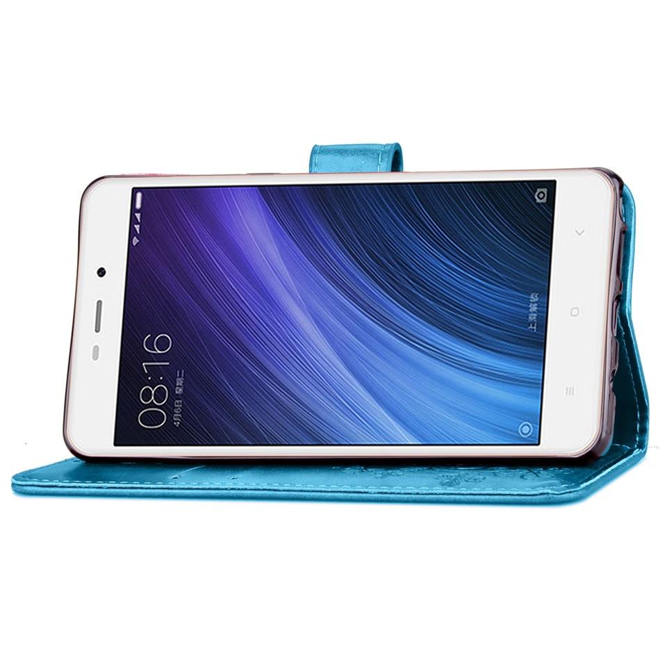 Xiaomi Redmi 4A Case Flip Wallet PU կաշվե տուփ Xiaomi Redmi - Բջջային հեռախոսի պարագաներ և պահեստամասեր - Լուսանկար 5