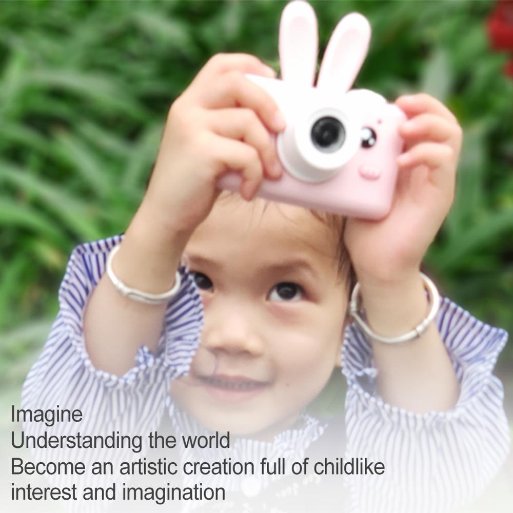 Nouveau 1.8 MP D3 dessin animé enfants caméra Mini appareil photo numérique jouets caméscope Portable avec 2.0