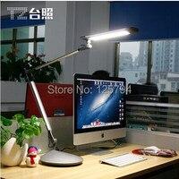 TZ 002 Fold Long Arm Led Desk Lamp Clip Lamp Business Work 3 Levels Dimmable Eye