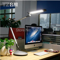 10W TZ 002 Foldable long arm led desk lamp clip lamp desktop 3 levels dimmable Eye protection Lights with two different base