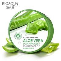 BIOAQUA Natural Aloe Vera Smooth Gel Acne Treatment Face Cream For Hydrating Moist Repair After Sun