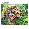 ZOOYA Diamond Embroidery 5D DIY Diamond Painting Leopard Forest Leaves Diamond Painting Cross Stitch Rhinestone Mosaic
