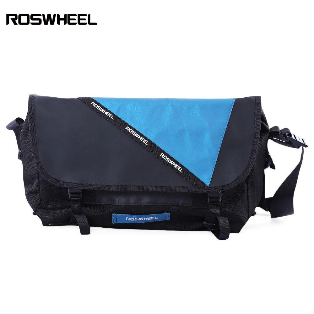 Sac à dos d'équitation étanche Roswheel sac de cyclisme réfléchissant extérieur vtt sac de messager étanche rétro