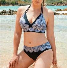 Plus Size Women's Bikini Suit Swimwear