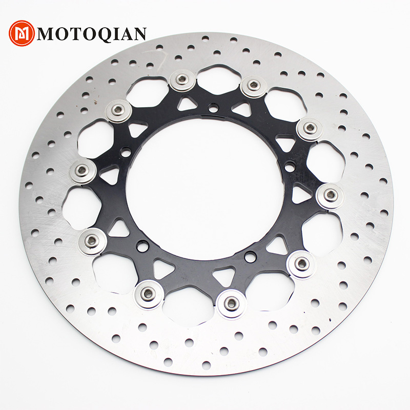 Brake Disk bicycle bolts For Yamaha R1 2006 2005 2004 Clearance Front YZFR1 YZF R1 YZF-R1 Rotor Disc Motorcycle Accessories for yamaha yzf r1 2004 2005 2006 yzf r1 radiator grille protective grille cooler guard cover