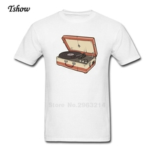 Vintage Record Player men's t-shirt