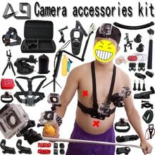 A9 для GoPro Интимные аксессуары набор для Go Pro Hero 6 5 4 3 комплект крепление для SJCAM SJ4000/Xiaomi Yi/Экен h9/Sony Action Cam Штатив