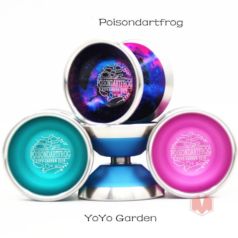 New Arrive YYG Poisondartfrog yoyo small metal yoyo professionnel classic toys YOYO