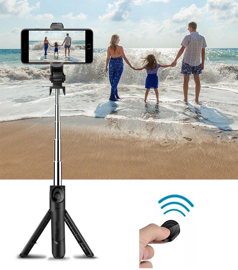 Selfie Stick Bluetooth Stativ Kit für iPhone XR 7 X Xiaomi Meizu ASUS Redmi 8 6 5 Huawei Lite LG Nubia Einbeinstativ Android