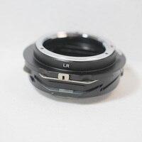 Переходник для Leica R Mount L/R LR для объектива Canon EOS M беззеркальный адаптер (EF M) крепление цифровых камер