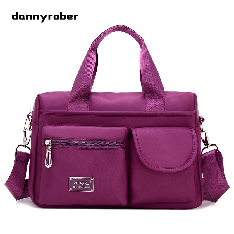 Fashion Women Handbag Messenger Bags High Quality Waterproof Nylon Ladies Handbags Shoulder Crossbody Bag For Female New F98 women s messenger bags ladies nylon handbag travel casual bag shoulder female high quality large capacity crossbody bags