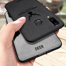 PHOPEER Case for Xiaomi Redmi Note 7 Soft Silicone Fabric Cloth Back Cover Note7 Cases