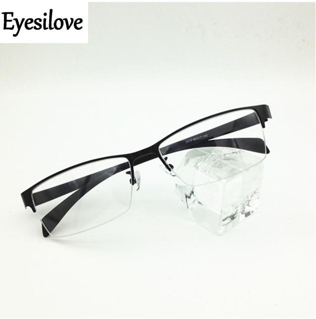 Eyesilove mens business eyewear frame for big face optical frame acetate Temple Prescription glasses frame Eyeglasses Frames