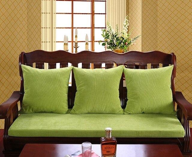 New jade più spessa giacca di legno sedia cuscino del divano senza ...