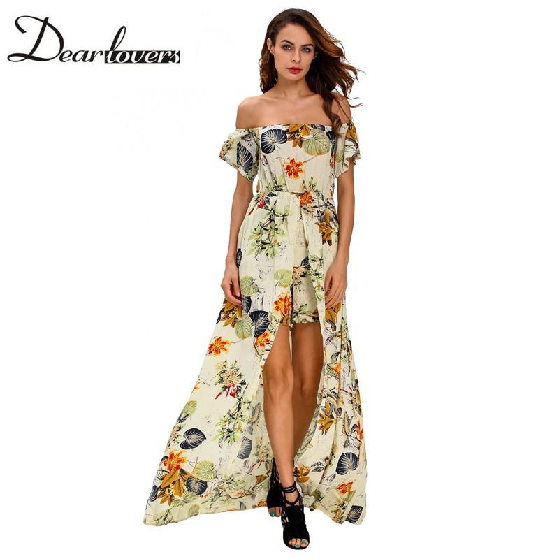 HTB12lCgNFXXXXb8XVXXq6xXFXXXf - Maxi Dress Floral Slit Romper Long Dress JKP062