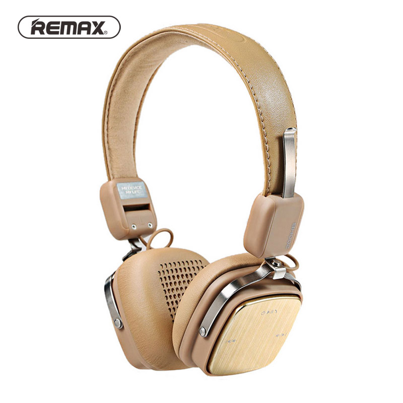 Remax RB-200HB Adjustable Soft Leather AUX Bluetooth Headset Stereo Foldable Headset Handsfree Noise Reduction For iPhone спот maytoni valli eco565 03 w