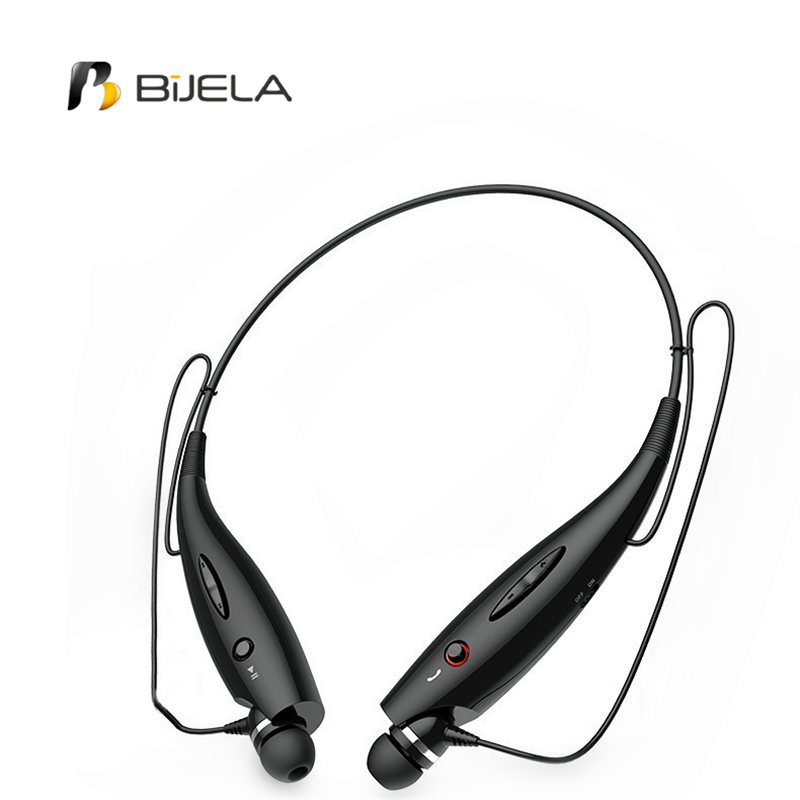 Hot HBS-730 Wireless Bluetooth Headset Sports Bluetooth Earphones Headphone with Mic Bass Earphone for Xiaomi Samsung iphone kz zs5 bluetooth headphone wireless sport noise canceling earphone amplifer with mic heavy bass high quality for boy for samsung