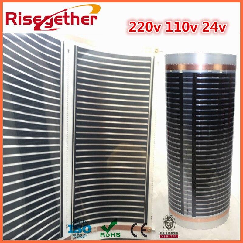 Free Shipping PTC Graphene Underfloor Heating Film 220 Voltage And Free Heating Film