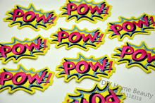 POW Embroidered Iron On Patches