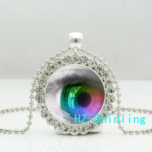 New Human Eye Necklace Gothic