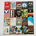 2017 Moda 3D Titular de Passaporte de Couro, Saco Titular do Cartão de Capa de passaporte para Viagens, 22 Estilo para escolher, tamanho 14*9.6 cm