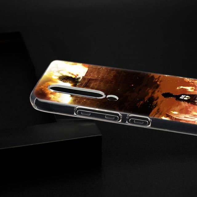 Attack on Titan Case Cover For Xiaomi Phones
