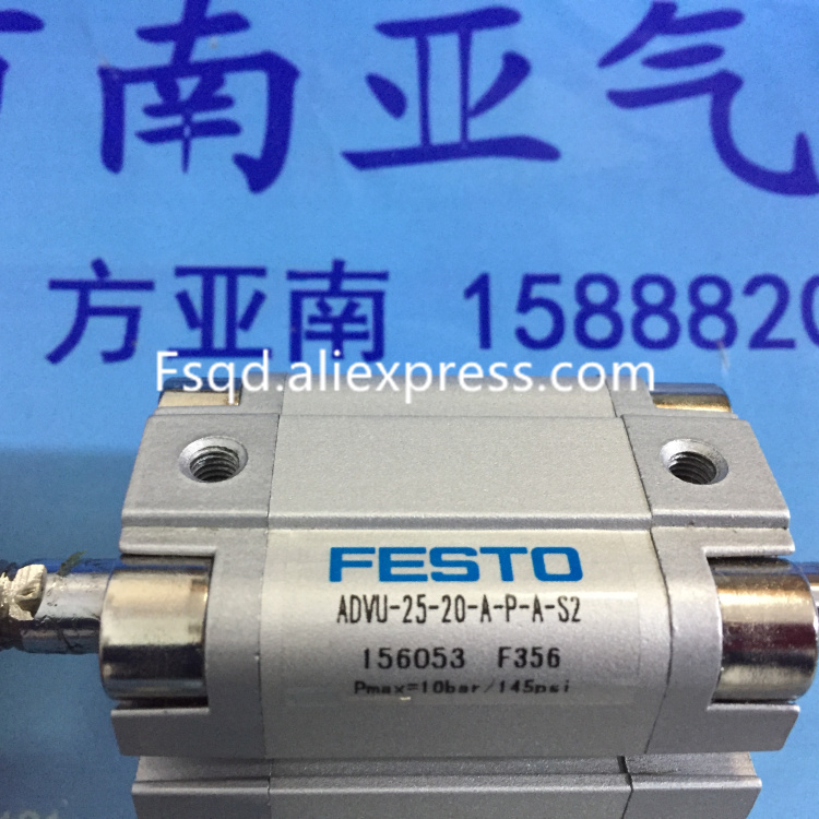 ADVU-25-200-A-P-A ADVU-25-20-A-P-A-S2 FESTO cylinderADVU-25-200-A-P-A ADVU-25-20-A-P-A-S2 FESTO cylinder