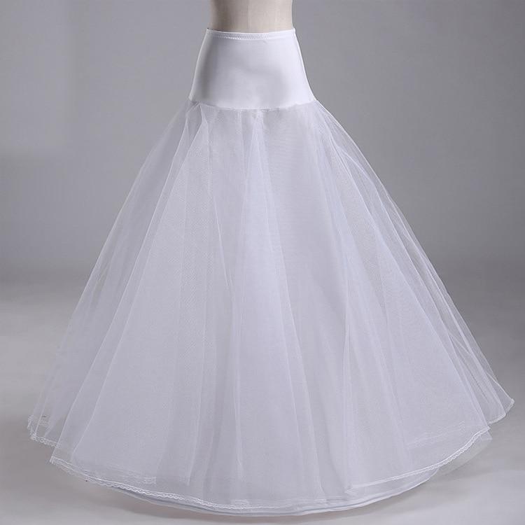 White Long Petticoat Floor Length Petticoat Long A Line Petticoat Tulle Netting Petticoat