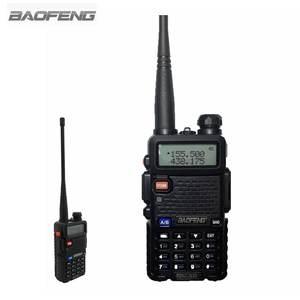 Image 2 - Baofeng UV 5R Walkie Talkie CB Radio Transceiver 5 watt VHF UHF Dual Band FM Handheld Amauter Schinken Zwei Funkgeräte UV5R Für Jagd