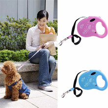 New Pet Dog/Cat Puppy Automatic Retractable Traction Rope Walking Lead Leash Chain Pet Supplies Collar цены
