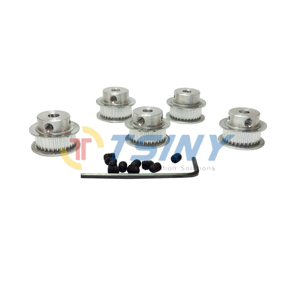aliexpress com   buy 5pcs 2gt aluminium timing belt pulley 32 teeth hole diameter 5mm 6 35mm 8mm