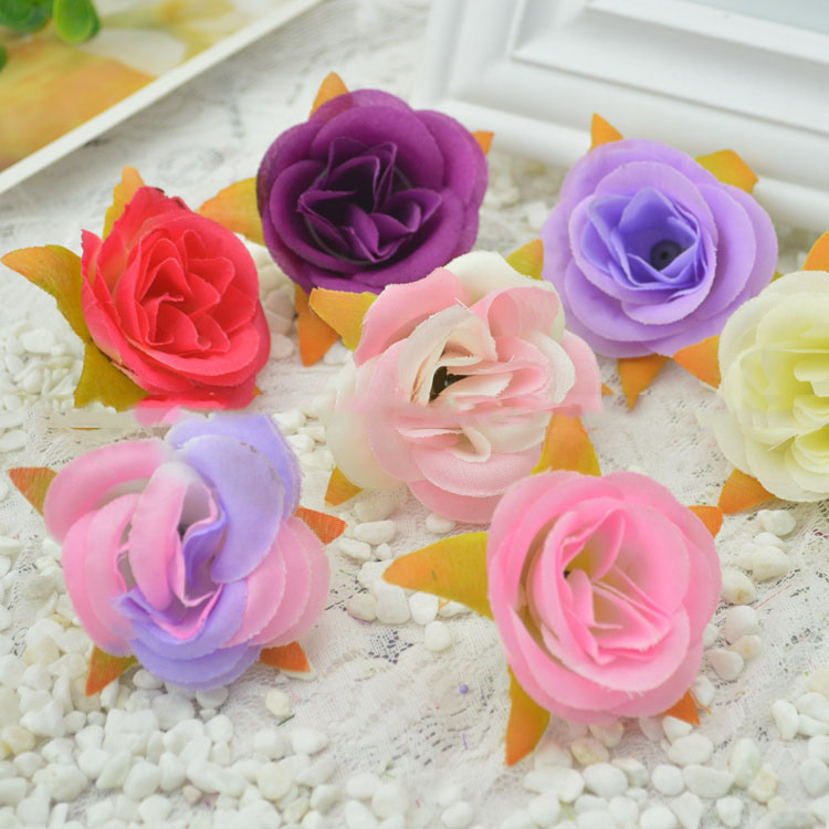 Artificial flowers fresh pastoral simulation silk rose roses head artificial flowers fresh pastoral simulation silk rose roses head fake flowers simulation flowers wholesale diy bead head flower in artificial dried mightylinksfo
