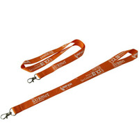 50pcs/lot Custom Lanyards Polyester Lanyards One Color One Side Screen Printing Lanyard OEM Customize Branded Phone Holder Rope