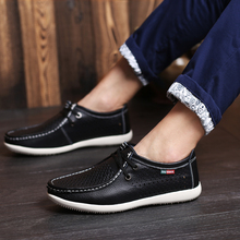 Luxury Brand Men Casual Shoes Genuine Leather Mesh Loafers British Style Breathable Loafers Flats Soft Summer Men Driving Shoes muhuisen brand new fashion summer spring men driving shoes loafers real leather boat shoes breathable male casual flats loafers