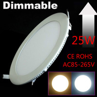 50 pcs 25W and 50 pcs 4w Dimmable LED Ceiling Downlight Natural white/Warm White/Cold White + driver