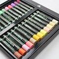 24 cores macio crayon cinza sênior pesado cor óleo pastel conjunto escola artigos de papelaria lavável estudante graffiti pintura caneta criança bebê