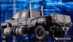 Image 5 - Transformation Black Mamba over size metal part MPM06 ls09 ls 09 Ironhide figure toy