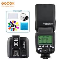 Godox Винг V860II V860II N вспышки Speedlite ttl + X1T N передатчик Беспроводной флэш Trigge для nikon Камера D800 d700 D7100 D700