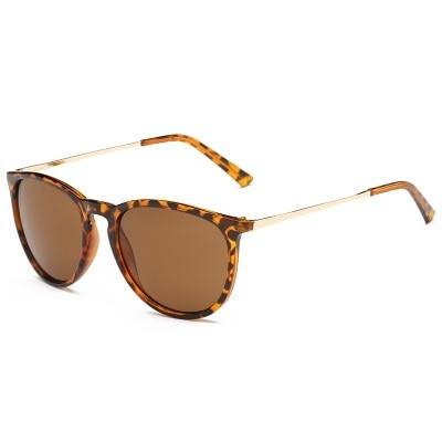 Retro Sunglasses Women Men 2018 Brand Designer Round Sun Glasses Mirror lens for Man Lady Male Sunglasses Oculos De Sol Eyewear 5