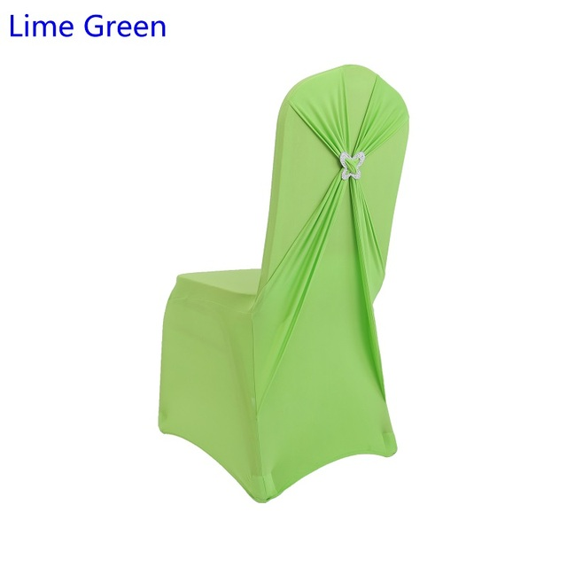 Strange Us 3 5 Lime Green Colour Lycra Chair Cover With Butterfly Buckle Lycra Sash Spandex Chair Cover Fit All Chairs Wedding Banquet Party In Chair Cover Pabps2019 Chair Design Images Pabps2019Com